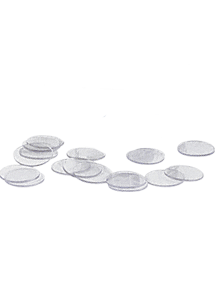 Clear Plastic Discs - 10 Pack